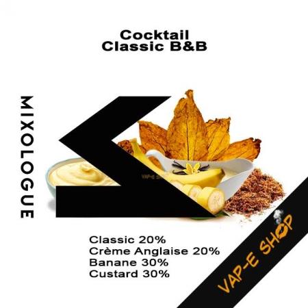 Cocktail Classic B&B, E-liquide Mixo