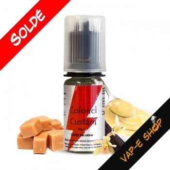 T-Juice Colonel Custard 10ml - E-liquide Vanille
