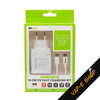 Chargeur Rapide USB-C 3.0A - Tekmee